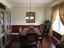 FULL Dining Room Table Set Hutch Cabinet$ in Naperville, Illinois