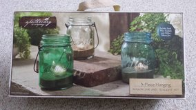 NEW!  3 Hanging Mason Jar Tealight Set in Lockport, Illinois