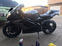 2006 GSXR 1000 in Camp Pendleton, California