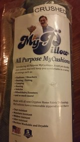 New *MY PILLOW*  All purpose seat cushion in Naperville, Illinois
