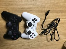 two Sony Playstation 3 paddles in Okinawa, Japan