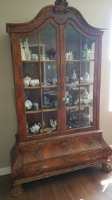 Bombe Burlwood China Cabinet from Belgium in Bolling AFB, DC