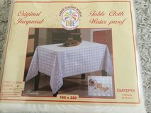 Jacquard Waterproof Table Cloth in Ramstein, Germany