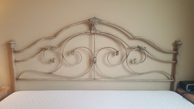 King headboard and frame in Morris, Illinois