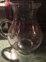 Princess house crystal pitcher in Fort Bragg, North Carolina