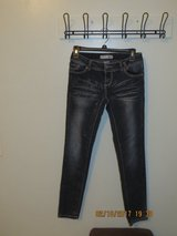 Juniors Size 5 no boundaries Dark Wash Denium Jeans with Sparkles on the Front in Glendale Heights, Illinois