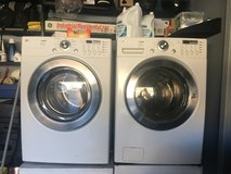 LG TROMM washer and dryer in Fort Bliss, Texas