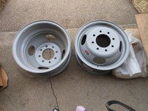 2 Dually wheels in DeKalb, Illinois