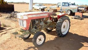 Yan Mar 1700 Diesel tractor 2WD with implements in Alamogordo, New Mexico