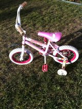 "12"" girls bike with training wheels in Camp Pendleton, California"