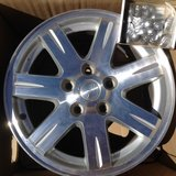 """Jeep Set of FOUR 17"""" x 7.5 Rims with Lug Nuts in Alamogordo, New Mexico"""