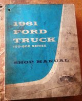 Official FORD TRUCK 100-800 series 61-62-63 in Fort Leonard Wood, Missouri