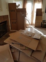 Free TMO moving boxes and paper in Camp Pendleton, California