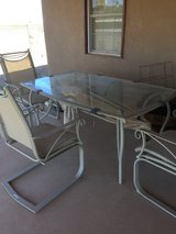 Outdoor Table with Chairs in Alamogordo, New Mexico