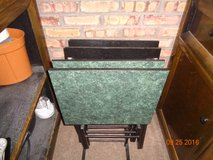 TV TRAYS SET OF 4 in Chicago, Illinois