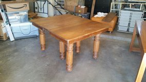 Solid Oak Dinning Table in Alamogordo, New Mexico