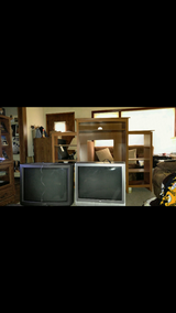 Entertainment Unit with 2 working televisions in Chicago, Illinois
