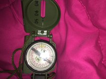 Green military compass in bookoo, US