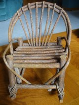 Chair to display doll/Handmade in DeKalb, Illinois
