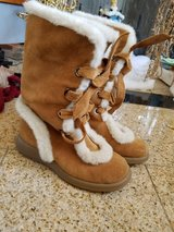 Aerosoles caramel suede fur boots new in Bolingbrook, Illinois