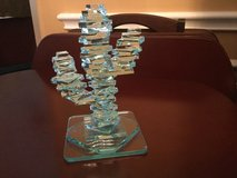 6 1/2 in Saguaro Cactus Stacked Art Glass in Kingwood, Texas
