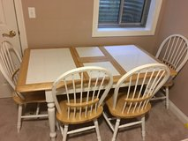 Table + 4 Chairs pickup this weekend in Plainfield in Aurora, Illinois
