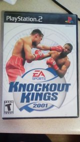 Play Station 2 Knockout Kings 2001 in Yucca Valley, California