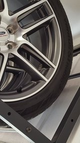 Set of 4 19x9 Ford Racing Boss 302 Wheels and Tires 05-14 Mustang in Fort Campbell, Kentucky