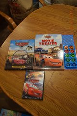 Disney Pixar Cars Movie Theater Storybook CD in Chicago, Illinois
