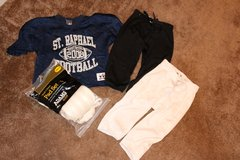 Youth Football Pads and Pants (Medium) in Aurora, Illinois