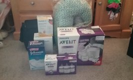 Philips AVENT Double Electric Breast Pump, AVENT Bottles,  Nursing Pillows, Medela Storage Bags ... in Gordon, Georgia