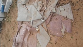 Free carpet material in Yucca Valley, California