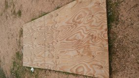New Piece of plywood in 29 Palms, California