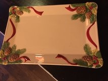 Christmas tray large in Fort Bragg, North Carolina