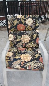 6 high back patio chair cushions in Camp Lejeune, North Carolina