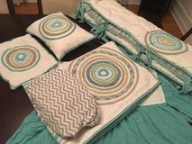 Land of Nod crib bedding set in Chicago, Illinois