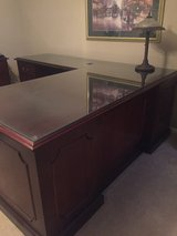 Desk and Credenza in Kingwood, Texas