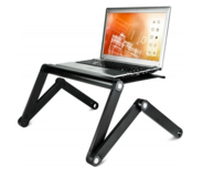 Vented Table Desk Sofa Bed Tray Folding Adjustable Stand for Laptop No - $13 in Chicago, Illinois
