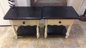 Matching End Tables w/ Drawer & Shelf in 29 Palms, California