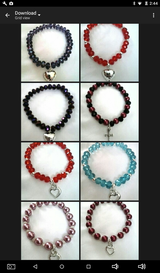Bracelets asking $5 each in San Antonio, Texas