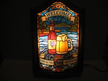 Old Style Beer Lighted Sign Vintage in Chicago, Illinois