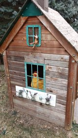 Cedar Playhouse or chicken coop in Aurora, Illinois