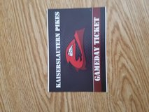 High school football game tickets in Ramstein, Germany