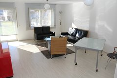 *PTM* - PETFRIENDLY Spacious 1br Apartment with garden 13 min. from Panzer in Stuttgart, GE