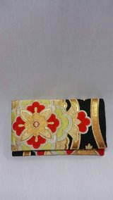 Japanese Kimono soft clutch bag in Okinawa, Japan