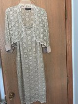 Gorgeous dress with jacket in size 10 in Westmont, Illinois