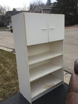 Cabinet, great for helping organize garage or basement storage in Glendale Heights, Illinois