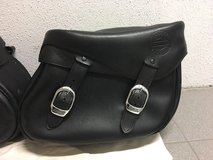 Harley leather saddlebags in Stuttgart, GE