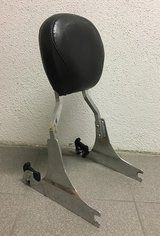 Harley quick detachable backrest sissy bar softail deluxe 00 in Stuttgart, GE