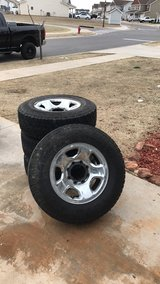 Stock Rims and tires in Lawton, Oklahoma